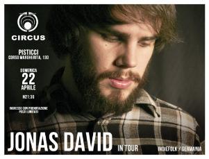 JONAS DAVID - 22 aprile 2012 - Matera