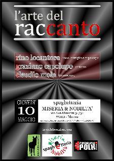 L'Arte del racCanto - 10 maggio 2012 - Matera