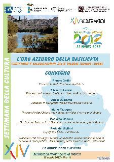 L'Oro Azzurro della Basilicata - 18 aprile 2012 - Matera