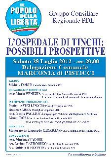 L'OSPEDALE DI TINCHI: POSSIBILI PROSPETTIVE - 28 luglio 2012 - Matera