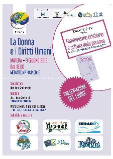 LA DONNA E I DIRITTI UMANI - 9 giugno 2012 - Matera