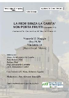 LA FEDE SENZA LA CARITA' NON PORTA FRUTTI - 11 maggio 2012 - Matera