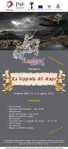 La Leggenda del Drago 2012  - Matera