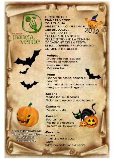 La notte di halloween al ristorante Pianeta Verde - Matera