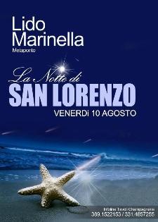 La Notte di San Lorenzo - 10 agosto 2012 - Matera