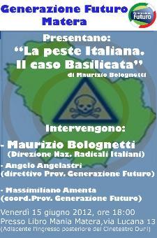 La Peste Italiana. Il caso Basilicata - Matera