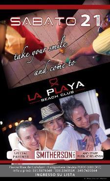 LA PLAYA - Beach Club - 21 luglio 2012 - Matera