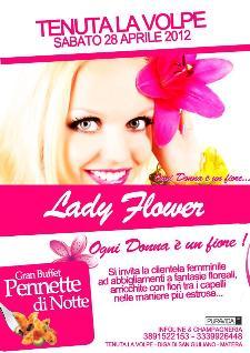 LADY FLOWER - Ogni donna è un fiore - 28 aprile 2012 - Matera