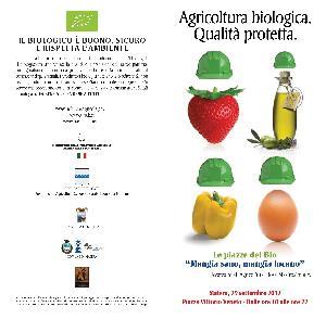 Le piazze del Bio. Mangia Sano mangia Lucano - 29 settembre 2012 - Matera
