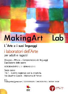 MAKING ART LAB. I Laboratori dell'arte  - Matera