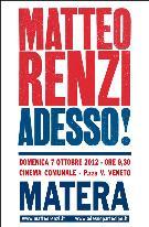 Matteo Renzi 2012 - Matera