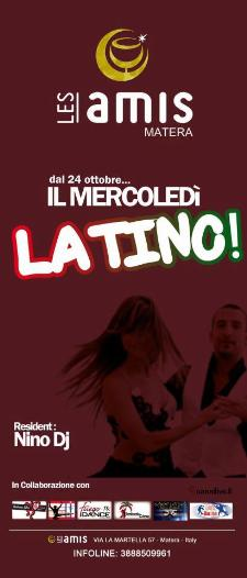 Mercoledì Latino - Les Amis - Matera