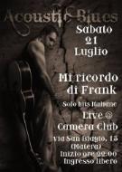 Mi Ricordo Di Frank live - 21 luglio 2012 - Matera