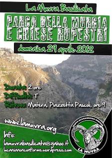 Parco della Murgia e Chiese Rupestri - 29 aprile 2012 - Matera