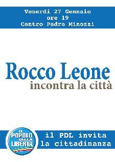 PDL Incontro con Rocco Leone  - Matera