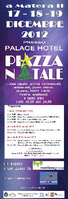 PIAZZA NATALE 2012  - Matera