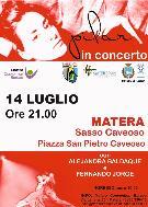 Pilar in concerto a Matera - 14 luglio 2012 - Matera