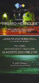 Premio Heraclea 2012 - 2 agosto 2012 - Matera