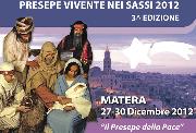 Presepe vivente 2012 a Matera - Matera