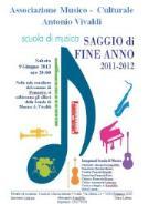 Saggio di fine anno della Scuola di Musica Antonio Vivaldi - 9 giugno 2012 - Matera