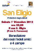 San Eligio - Protettore degli animali - 1 dicembre 2012 - Matera