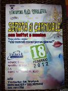 Serata di Carnevale - Tenuta La Volpe - Matera