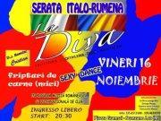 SERATA ITALO RUMENA - 16 novembre 2012 - Matera