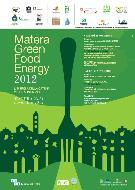 SETTIMANA UNESCO DI EDUCAZIONE ALLO SVILUPPO SOSTENIBILE MATERA GREEN FOOD ENERGY - Matera