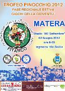 Trofeo Pinocchio 2012 - 2 giugno 2012 - Matera