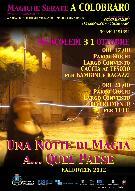 Una notte di magia a quel paese - Halloween 2012 - Matera