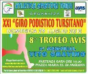 XXI Giro Podistico Tursitano  - Matera