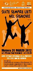 XXVII Giornata mondiale della gioventù  - Matera