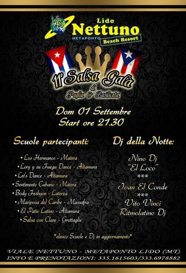 11° Salsa Galà di Puglia & Basilicata - 1 settembre 2013