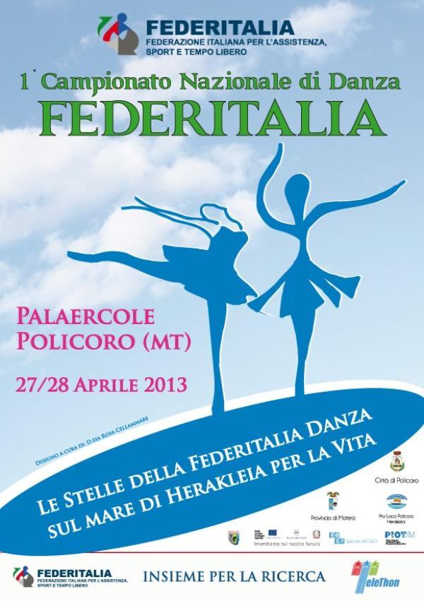 1° Campionato Nazionale di Danza Federitalia - 27 e 28 aprile 2013