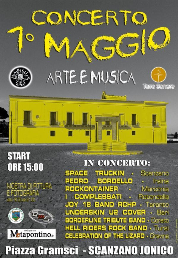 1° Maggio - Arte e Musica