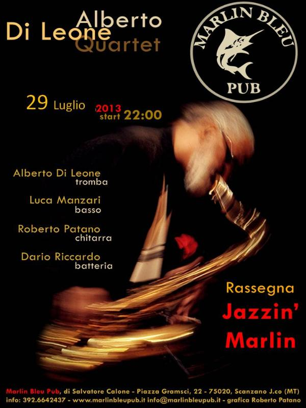 Alberto Di Leone Quartet - 29 luglio 2013