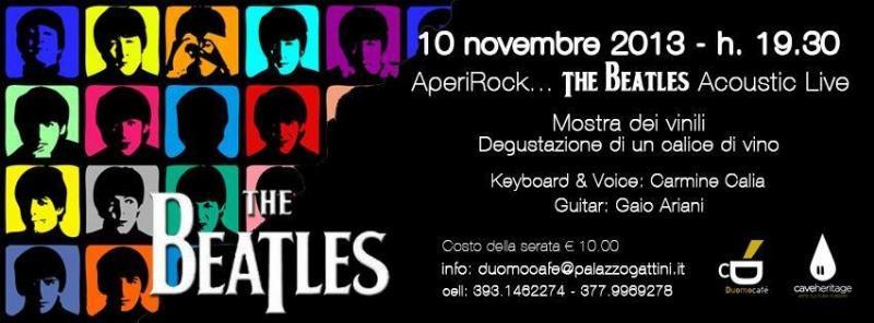 AperiRock ... The Beatles - 10 novembre 2013