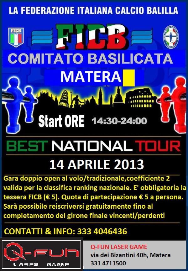 Best national tour - Calcio balilla città di Matera ...