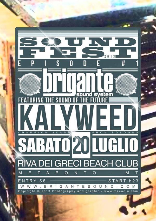 Brigante Sound Fest 2013
