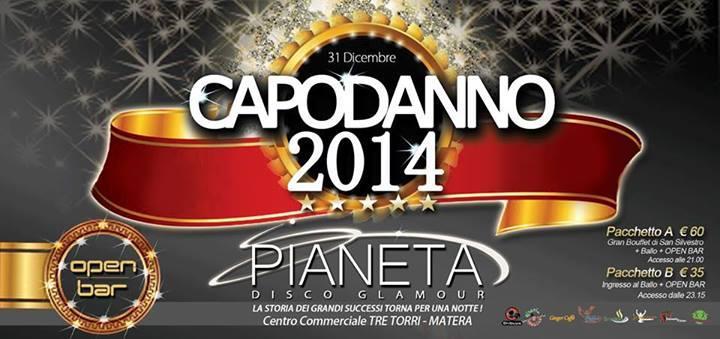 Capodanno 2014 al Pianeta Disco