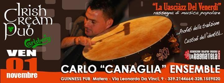 Carlo Canaglia Ensemble - 1 novembre 2013