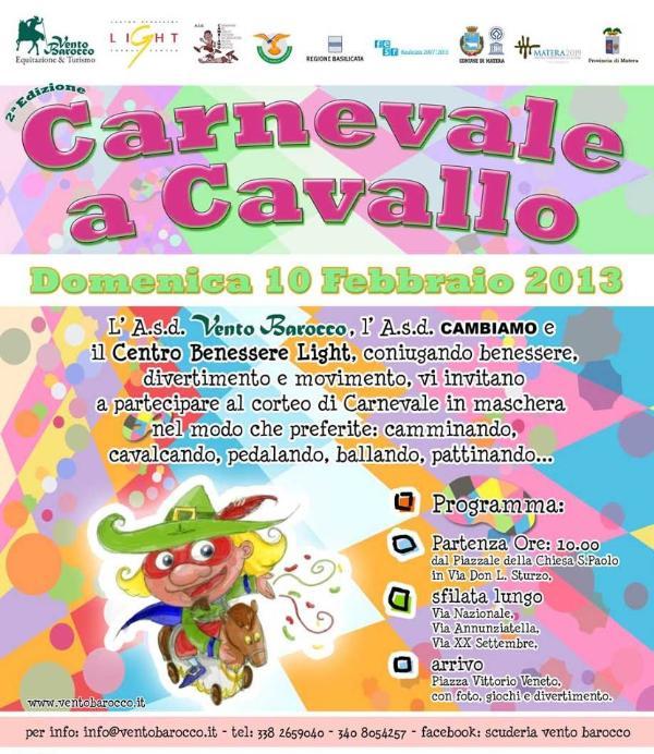 Carnevale a Cavallo 2013 - 10 febbraio 2013
