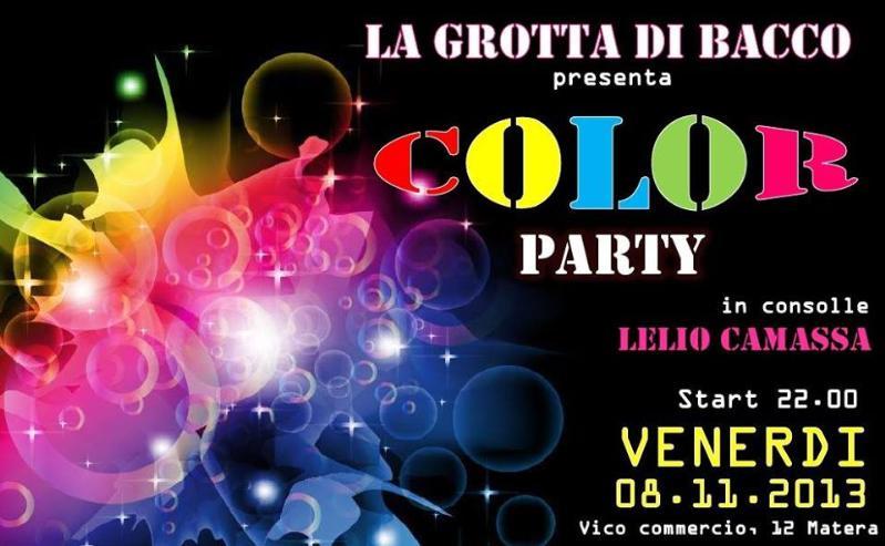 Color Party - 8 novembre 2013