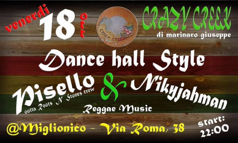 Dance hall Style - 18 ottobre 2013