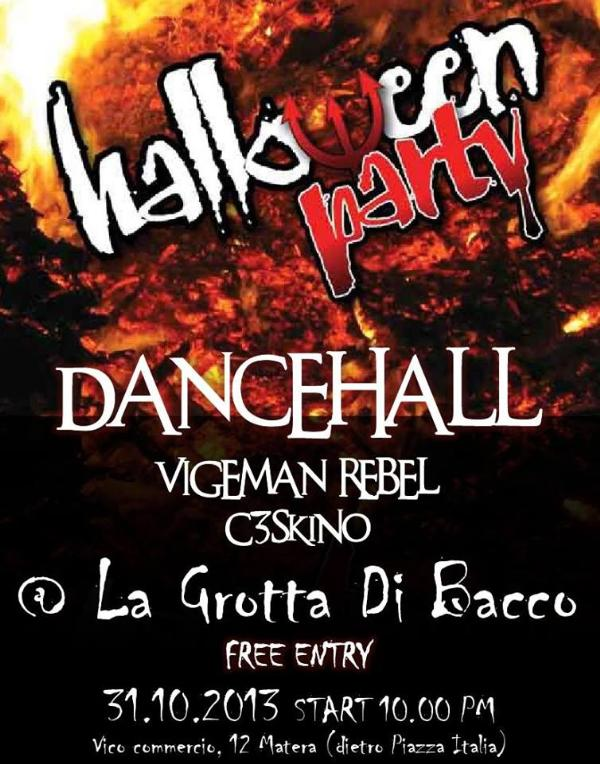 DanceHall - Halloween Party - 31 ottobre 2013