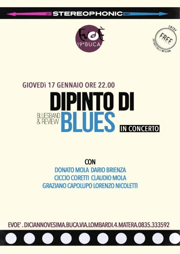 Dipinto di Blues live - 17 gennaio 2013