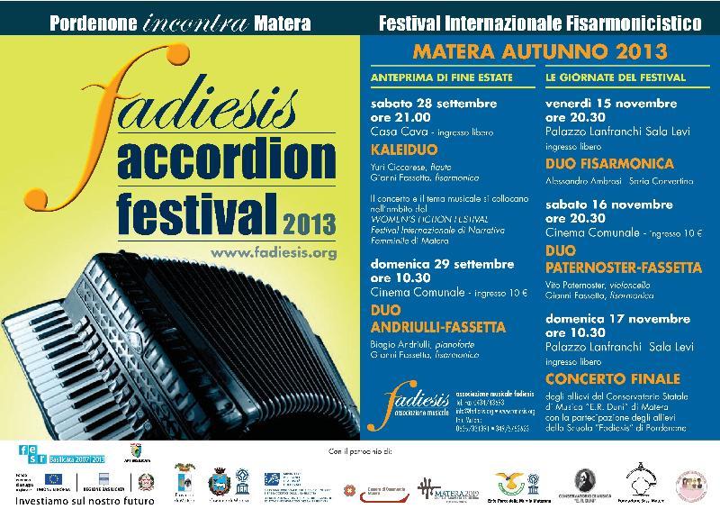 Fadiesis Accordion Festival 2013