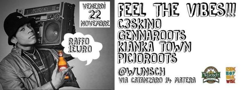 Feel the vibes - 22 novembre 2013