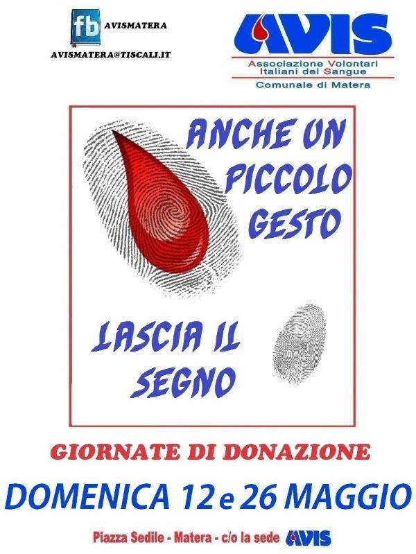 Giornata di donazione di sangue