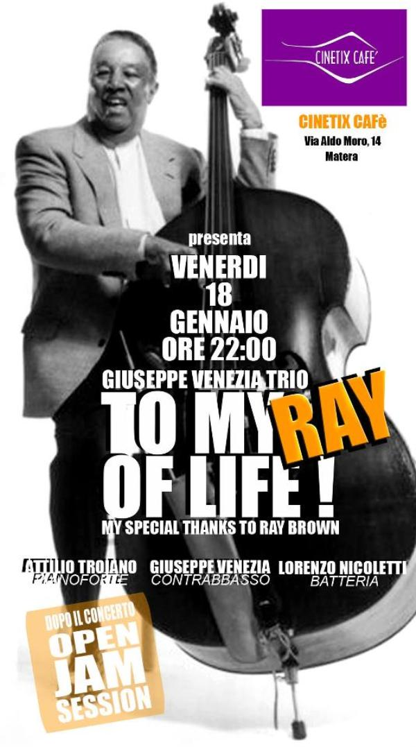 Giuseppe Venezia trio + Jam Session - 18 gennaio 2013